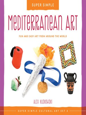 cover image of Super Simple Mediterranean Art