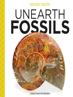cover image of Unearth Fossils