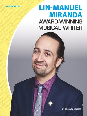 cover image of Lin-Manuel Miranda: Award-Winning Musical Writer
