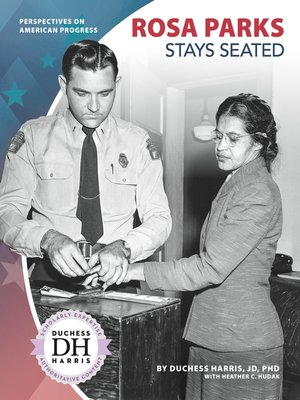 cover image of Rosa Parks Stays Seated