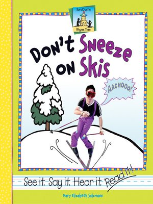 cover image of Don't Sneeze on Skis