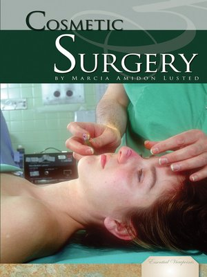 cover image of Cosmetic Surgery