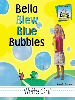 cover image of Bella Blew Blue Bubbles