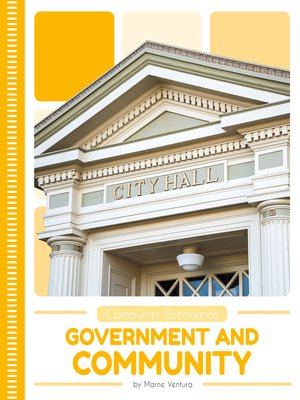 cover image of Government and Community