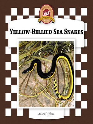 cover image of Yellow-Bellied Sea Snakes