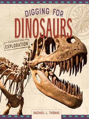 cover image of Digging for Dinosaurs