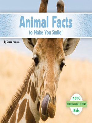 cover image of Animal Facts to Make You Smile!