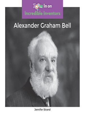cover image of Alexander Graham Bell
