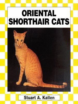 cover image of Oriental Shorthair