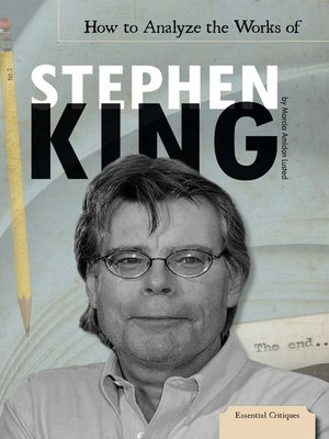 cover image of How to Analyze the Works of Stephen King