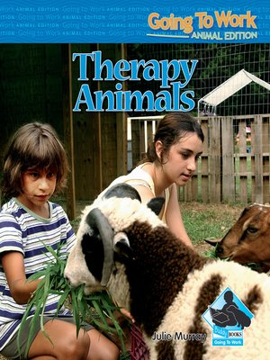 cover image of Therapy Animals