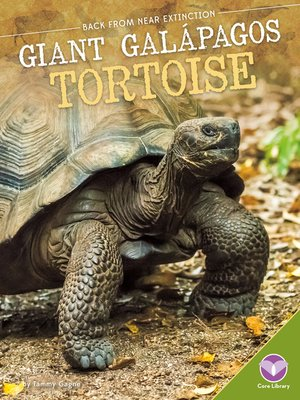 cover image of Giant Galápagos Tortoise