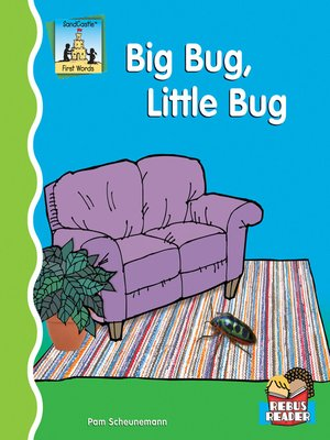 cover image of Big Bug, Little Bug