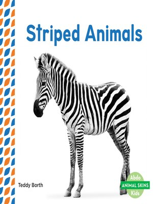 cover image of Striped Animals