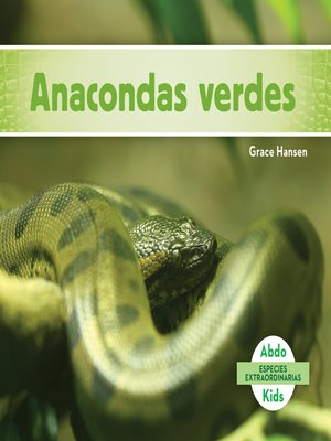 cover image of Anacondas verdes (Green Anacondas)