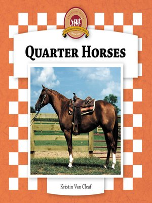 cover image of Quarter Horses