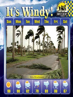 cover image of It's Windy!