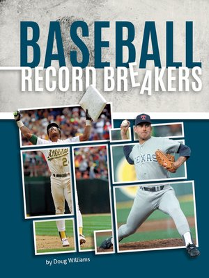 cover image of Baseball Record Breakers