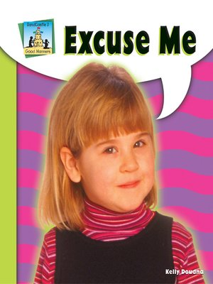cover image of Excuse Me
