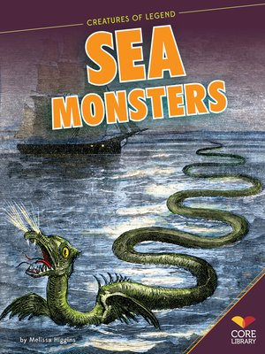 cover image of Sea Monsters