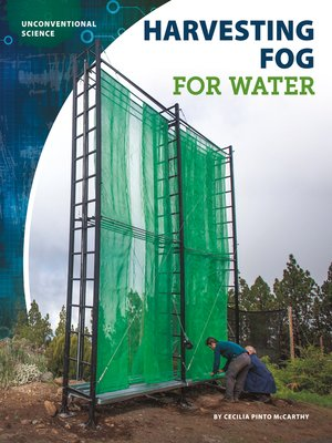 cover image of Harvesting Fog for Water