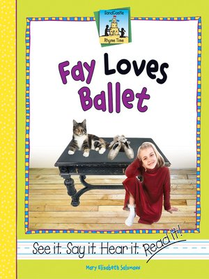 cover image of Fay Loves Ballet