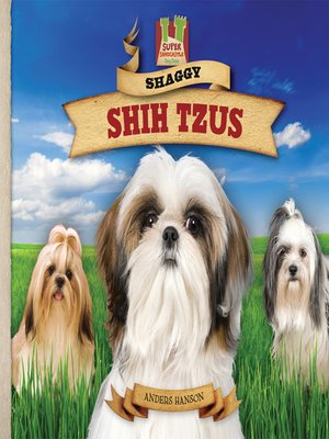 cover image of Shaggy Shih Tzus