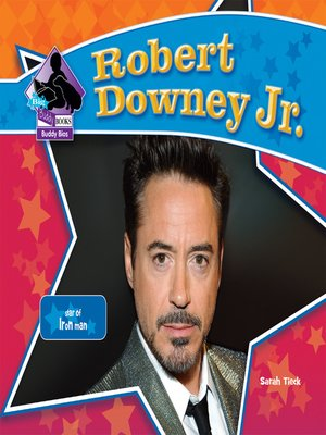 cover image of Robert Downey, Jr.