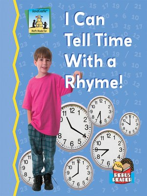 cover image of I Can Tell Time with a Rhyme!