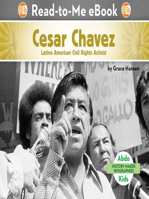 cover image of Cesar Chavez: Latino American Civil Rights Activist