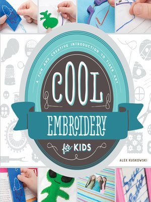 cover image of Cool Embroidery for Kids