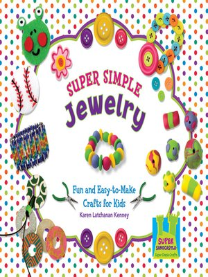 cover image of Super Simple Jewelry