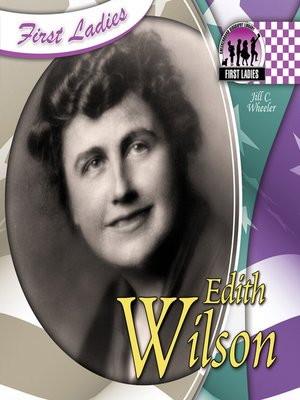 cover image of Edith Wilson