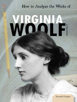 cover image of How to Analyze the Works of Virginia Woolf