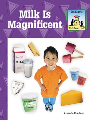 cover image of Milk is Magnificent