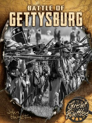 cover image of Battle of Gettysburg