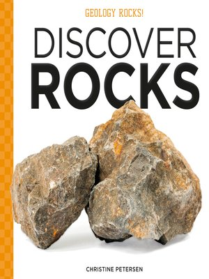 cover image of Discover Rocks