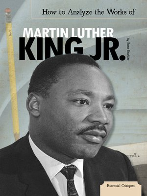 cover image of How to Analyze the Works of Martin Luther King, Jr.
