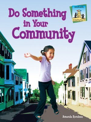 cover image of Do Something in Your Community