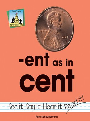 cover image of ent as in cent