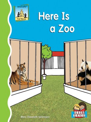 cover image of Here Is a Zoo