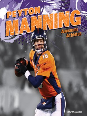 cover image of Peyton Manning