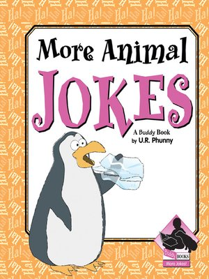 cover image of More Animal Jokes