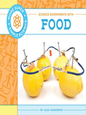 cover image of Science Experiments with Food