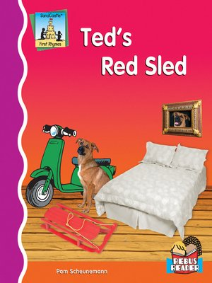 cover image of Ted's Red Sled