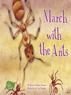 cover image of March with the Ants