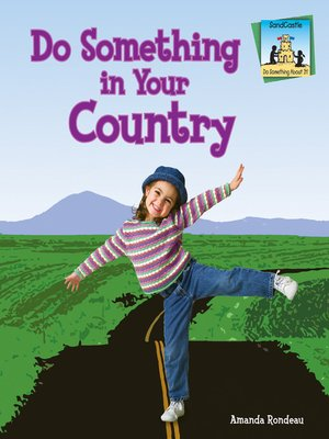 cover image of Do Something in Your Country