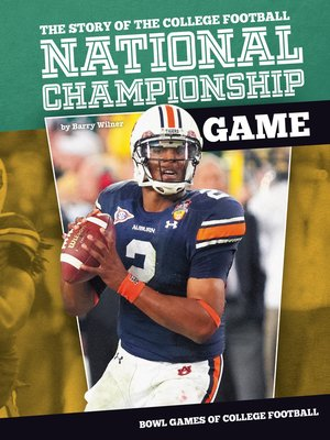 cover image of Story of the College Football National Championship Game