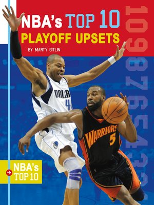 cover image of NBA's Top 10 Playoff Upsets