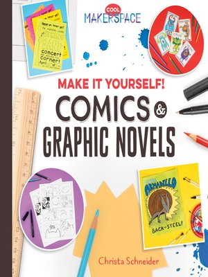 cover image of Make It Yourself! Comics & Graphic Novels